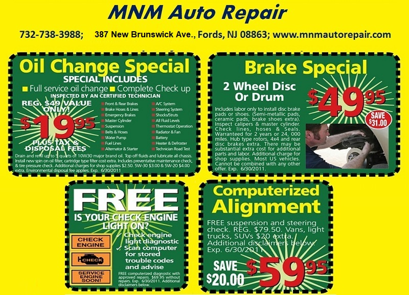 MNM Auto Repair - Complete Automotive Repair . Tires . NJ Inspection ...: http://bestminivan.us/reviews/automotive-repair
